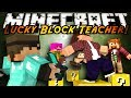 Minecraft Mini-Game : MODDED TEACHER! LUCKY BLOCKS!