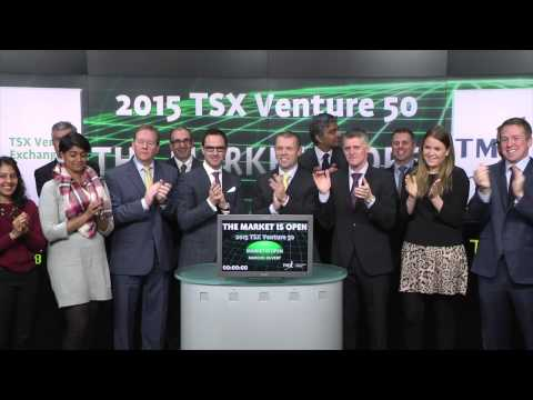 2015 TSX Venture 50 opens Toronto Stock Exchange, March 19, 2015