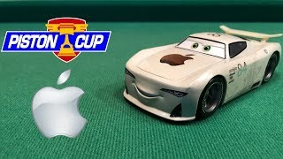 Disney Store Cars 3 J.P Drive #84 Apple Next-Gen Die-cast Review