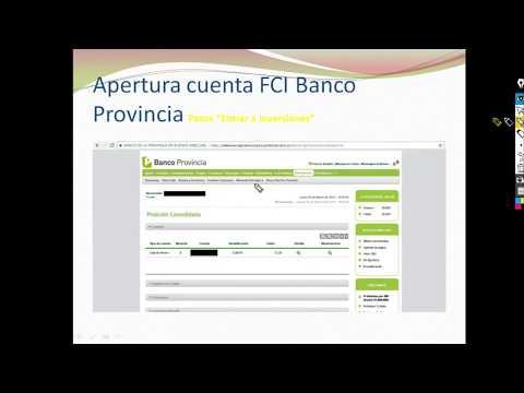Apertura FCI Banco Provincia