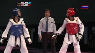 Download Video Taekwondo female's Under 49 kg | Panipak.W THA vs N.Shaharuddin MAS | 29th SEA Games 2017 MP3 3GP MP4