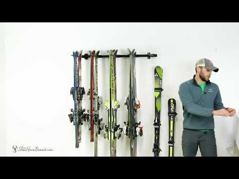 Omni Ski Wall Rack   StoreYourBoard
