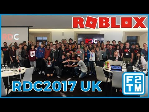 RDC2017 UK Vlog | Roblox Developers Conference YouTube Space, London