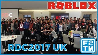 RDC2017 Reino Unido vlog | Roblox Developers Conference espaço YouTube, Londres