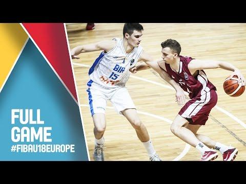 Latvia v Bosnia and Herzegovina - Live - FIBA U18 European Championship 2016