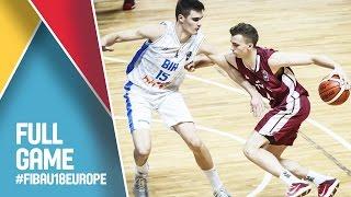 Latvia v Bosnia and Herzegovina - Full Game - FIBA U18 European Championship 2016