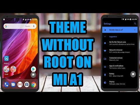 mi a1 theme store themes in apks | change theme without root or andromeda  on mi a1 on oreo