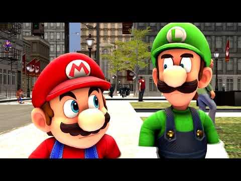 [Sfm Mario] Mario & Luigi Vacation Videos