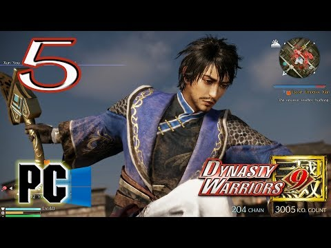 Dynasty Warriors 9 Part 5 [PC] Xun You Starting The Divide CH3 Part 3/3