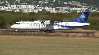 ATR-72 Air Austral,F-OMRU,décollage piste 14 @ St Denis de la Réunion (FMEE/RUN)