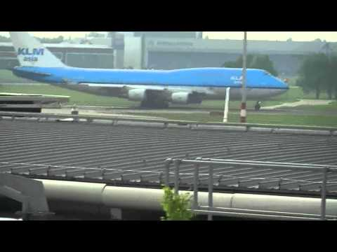 Schiphol planes take-off and taxiing HD (compilation)