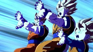 Dragon Ball FighterZ - Every Dramatic Finish in Japanese
