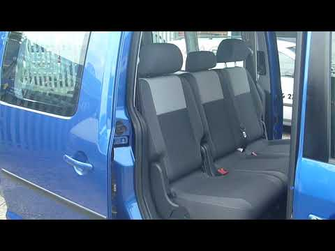PO13HFB 7 seat option VW CADDY MAXI LIFE with Wheelchair Access T: 01634 716911