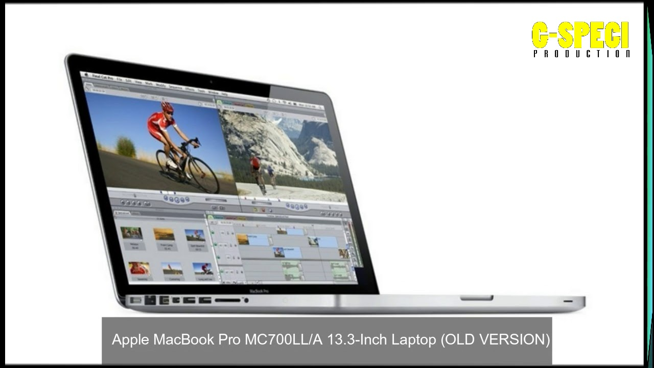 Apple Macbook Pro Mc700ll A 13 3 Inch Laptop Old Version Youtube