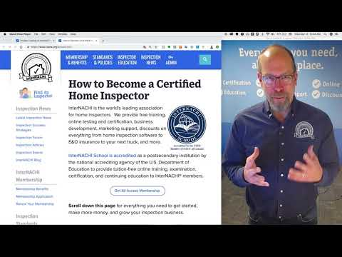 How to Be e a Certified Home Inspector in Colorado InterNACHI