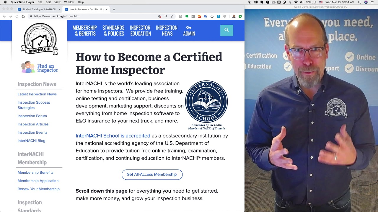 Become a Certified Home Inspector in Florida - InterNACHI