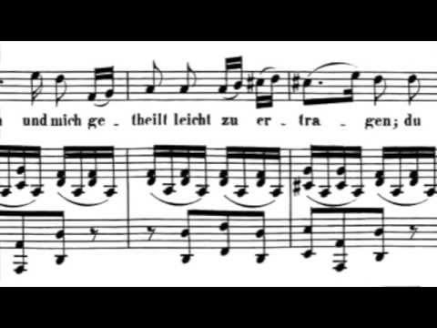 L. van Beethoven - Ich liebe dich (Je t'aime) ; Dietrich Fischer-Dieskau