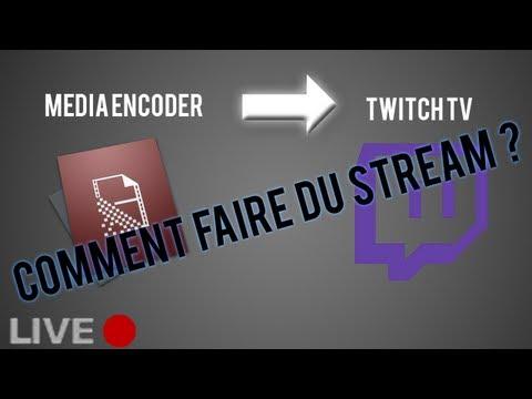 TUTO : Comment Live Stream Sur TWITCH TV Avec FLASH MEDIA ENCODER ?