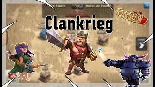Der große 50 vs 50 Community Clankrieg Clash of Clans/deutsch Teil 2