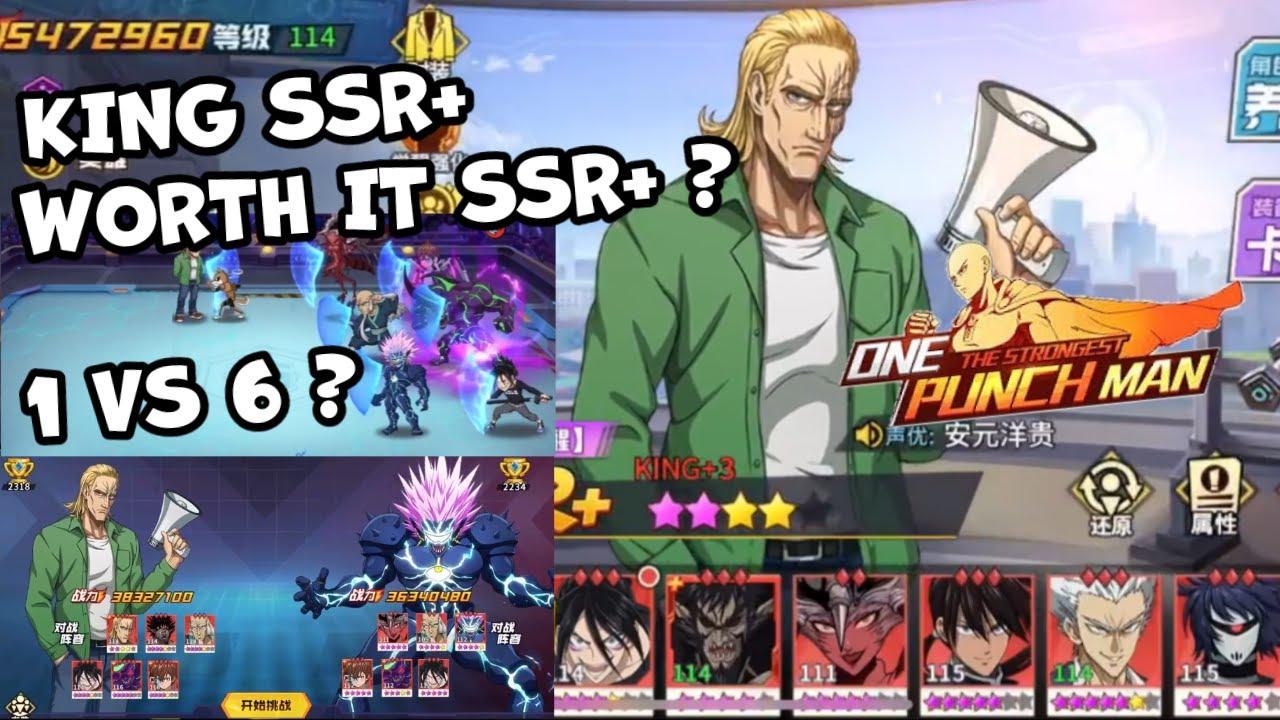 🔥🔥 PVP Endless Battle Zone King SSR+ B 4* Awaken 2* Showcase Kabuto - One Punch Man The Strongest