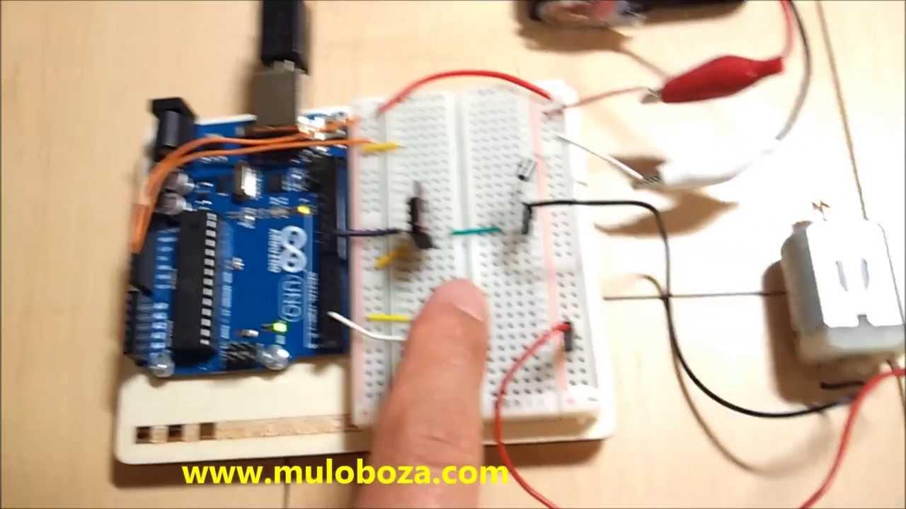 Arduino starter kit motolized pinwheel doovi