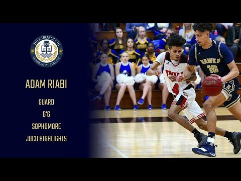 Adam Riabi 6'6 Guard (Hillsborough Community College) Sophomore JUCO Highlights