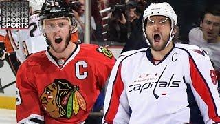 Alexander Ovechkin Goals v.s Sidney Crosby Goals Rookie Year