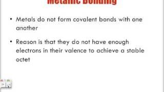 Metallic Bonding Lecture