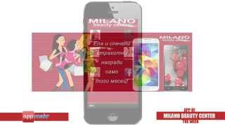 Milano Beauty Center App Review