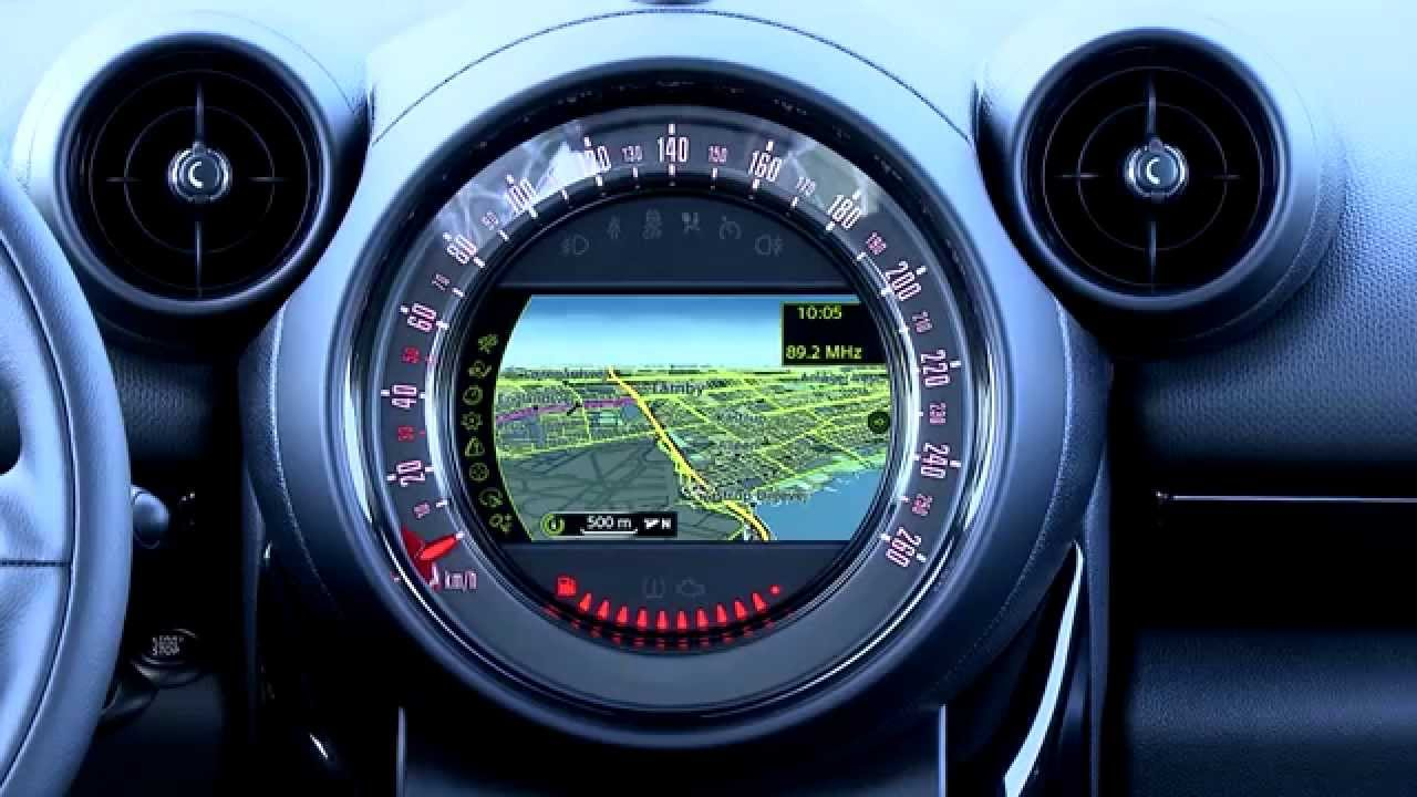 Mini Countryman Design Interieur Youtube