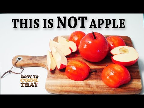 Apple Dessert that looks like a real apple!  No mold challenge