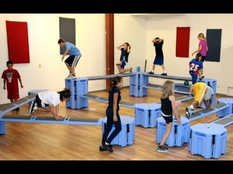 Railyard Obstacle Course, kids, youth, and youth conditioning exercise