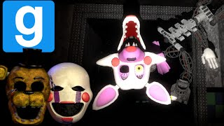 - MANGLE GETS AROUND Five Nights At Freddy s 2 GMOD HORROR MAP 2