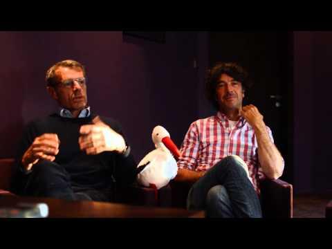 Interview de Lambert WILSON, Lionel ABELANSKI, et Eric LAVAINE pour le film BARBECUE - Radio AEC