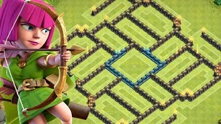 Download lagu Clash Of Clans | AWESOME TOWN HALL 9 FARMING BASE w/ Air Sweeper!