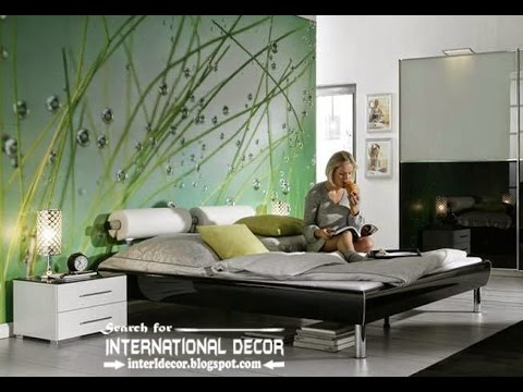 bedroom creative wall mural inspiration fascinating ideas | Creative Bedroom Mural Wallpaper Ideas - YouTube