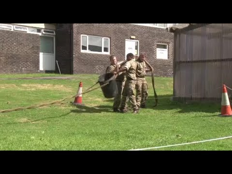 Army Reservists Compete For First Falklands Deployment Of Its Kind | Forces TV