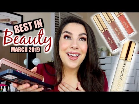 BEST IN BEAUTY: March 2019 (applying them all!) thumbnail