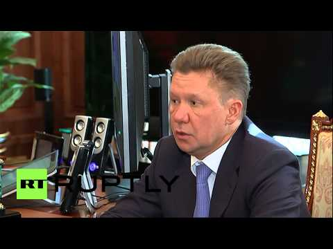 """Russia: """"Gazprom showing stable performance,"""" CEO tells Putin"""