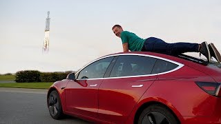 Tesla Road Trip: 1,000 Miles to the SpaceX Launch!