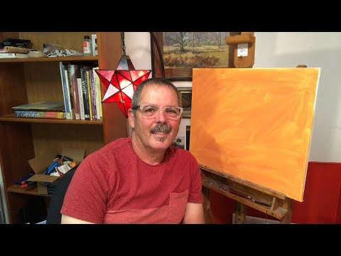 Starting a Studio Oil Painting
