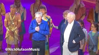 TV Andrew Lloyd Webber and Tim Rice Speeches Joseph Musical Opening Press Night Palladium