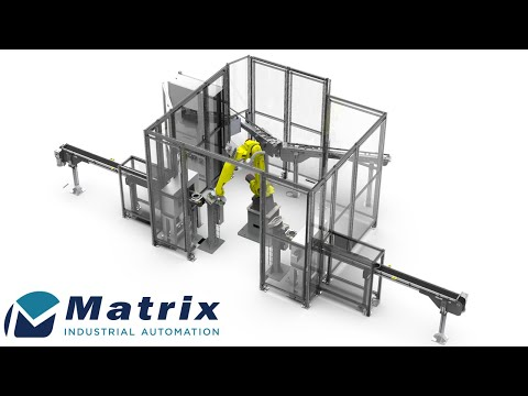Automated Material Handling & Parts Wash