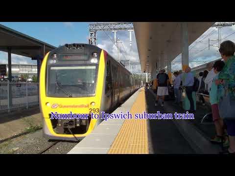 Trains Meet at Nambour Qld