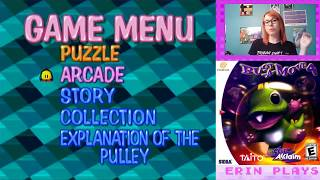 Live Stream - Happy Birthday Dreamcast - Bust A Move 4/Puzzle Bobble 4 (Dreamcast) - Erin Plays
