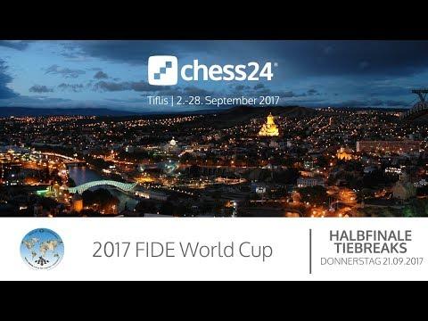 Halbfinale - Tiebreaks - FIDE World Cup 2017 - Live-Kommentierung
