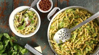 Zucchini with Pasta and Mint- Everyday Food with Sarah Carey