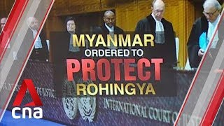International Court of Justice orders Myanmar to protect Rohingya