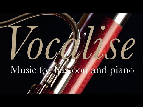 Vocalise: Classical Music for Bassoon and Piano