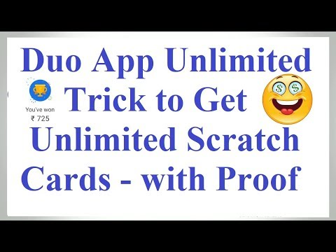 (Over) Google Duo Unlimited Trick to get Unlimited Scratch Cards | Google Duo Refer & Earn